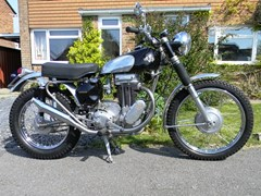 Navigate to Lot 120 - 1956 12837 Model 18 Trials 500cc