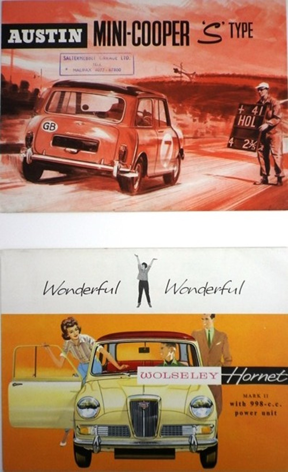 Lot 012 - Mini related brochures