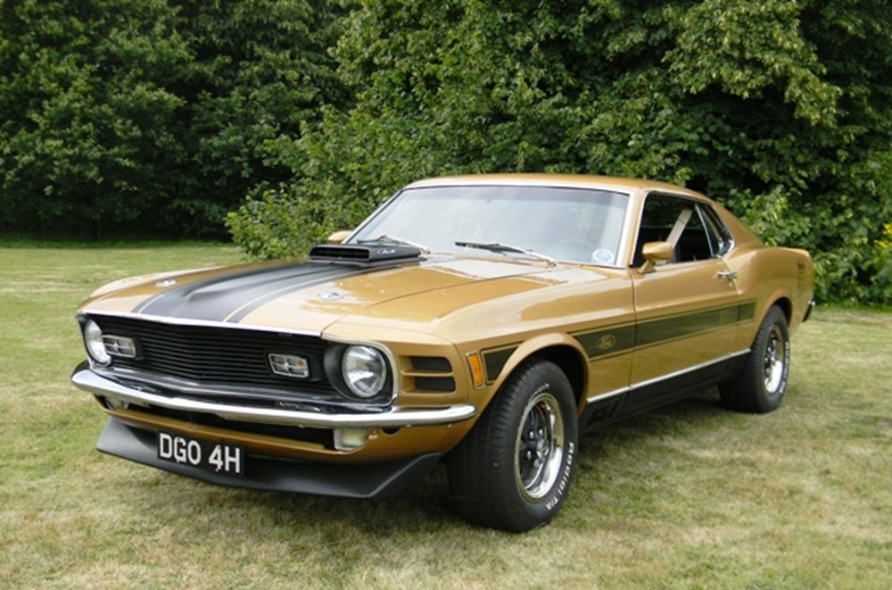 Lot 294 - 1970 Ford Mustang Mach 1 Cobrajet