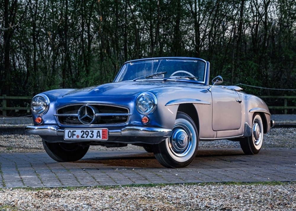Lot 152 - 1962 Mercedes-Benz 190 SL Roadster