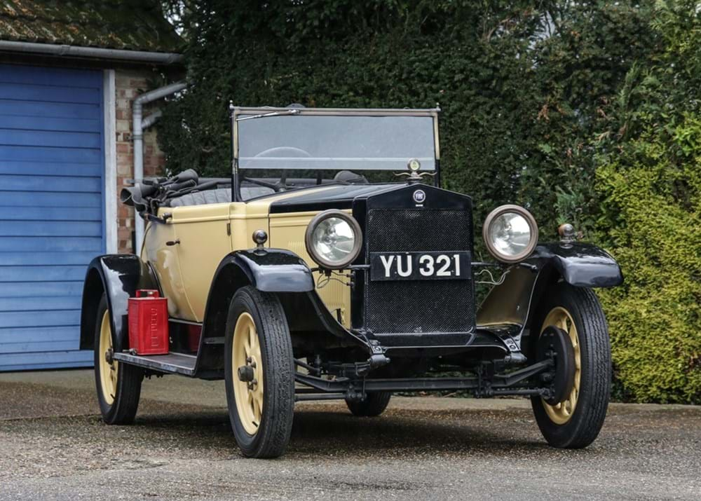 Lot 133 - 1927 Fiat 503 12 H.P. Two-Three Seater Torpedo
