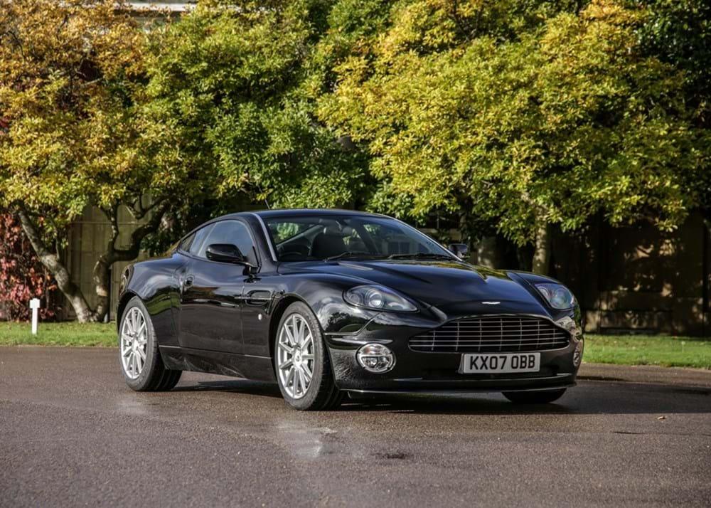 Ref 126 2007 Aston Martin Vanquish S Ultimate Edition Sb