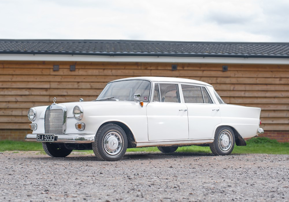Lot 353 - 1965  Mercedes-Benz 190c Fintail