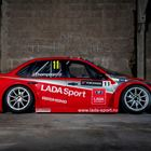 Ref 163 2014 Lada Granta FIA TC1 WTCC Works Factory Race Car -