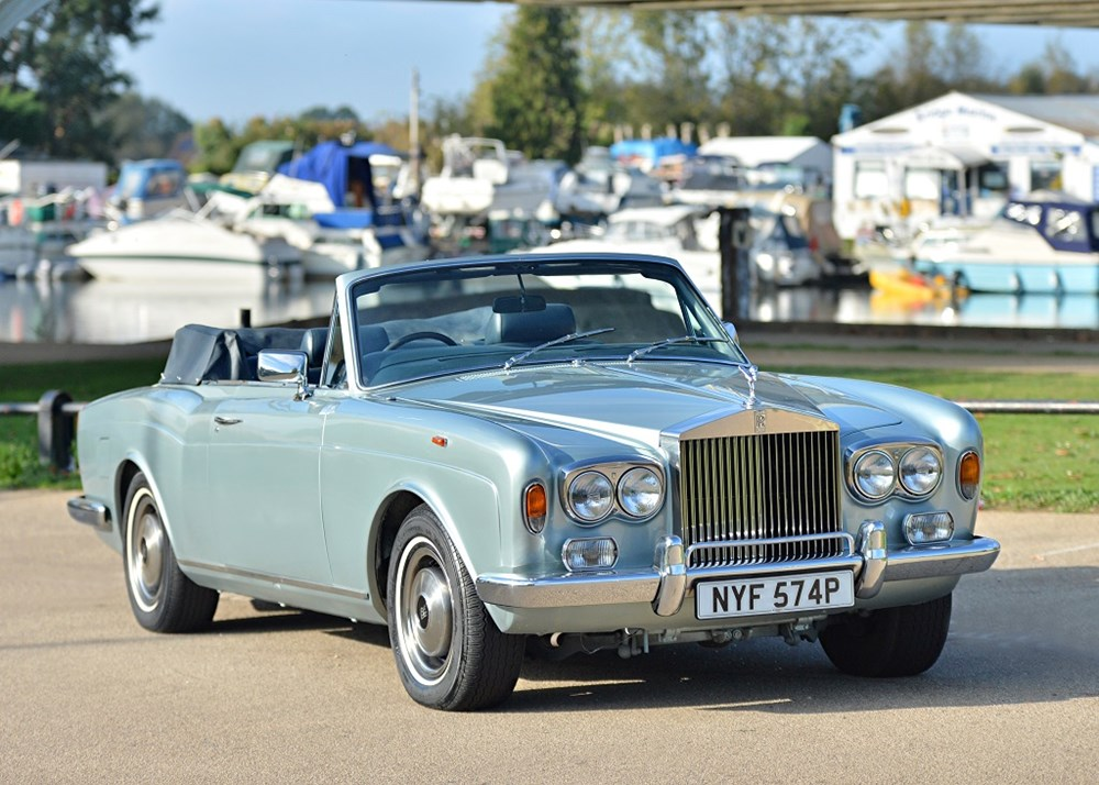 Lot 295 - 1976 Rolls-Royce Corniche  Convertible 1A