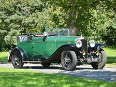 Navigate to Lot 183 - 1928 Bentley 4 1/2 Litre Drophead Coupé by Salmons & Sons