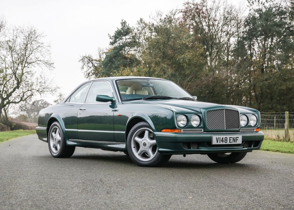 Lot 331 - 1999 Bentley Continental T