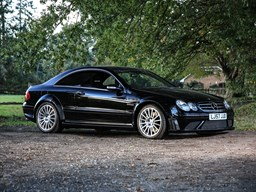 Ref 48 2008 Mercedes-Benz CLK63 AMG Black
