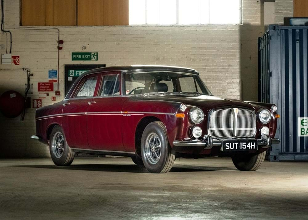 Lot 132 - 1969 Rover P5B Saloon
