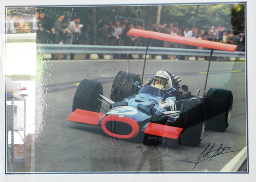Lot 103 - BRM poster