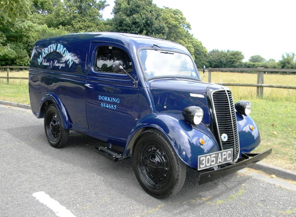 Lot 218 - 1956 Ford Thames 10cwt Van