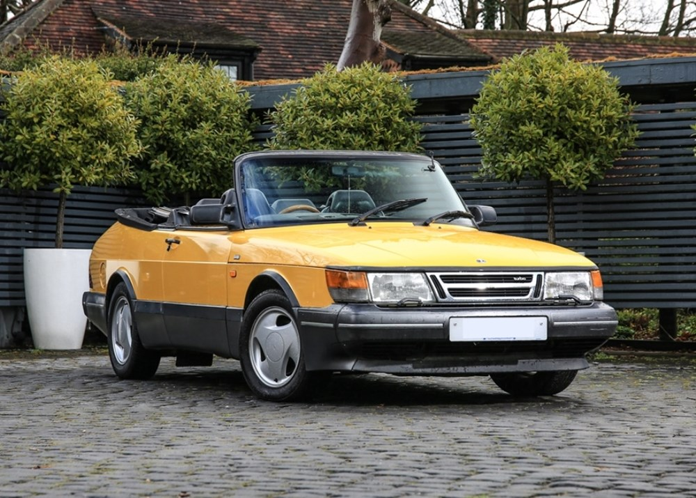 Lot 271 - 1991 Saab 900 Turbo Convertible Monte Carlo