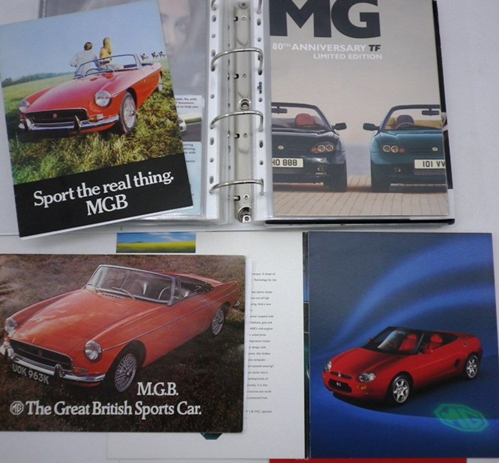 Lot 77 - MG cars