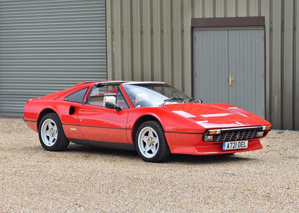 Ref 60 1984 Ferrari 308 Gts Qv