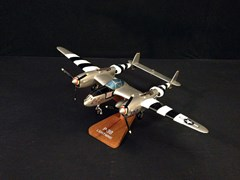 Navigate to 1940's Locheed P-38 Lightning Model