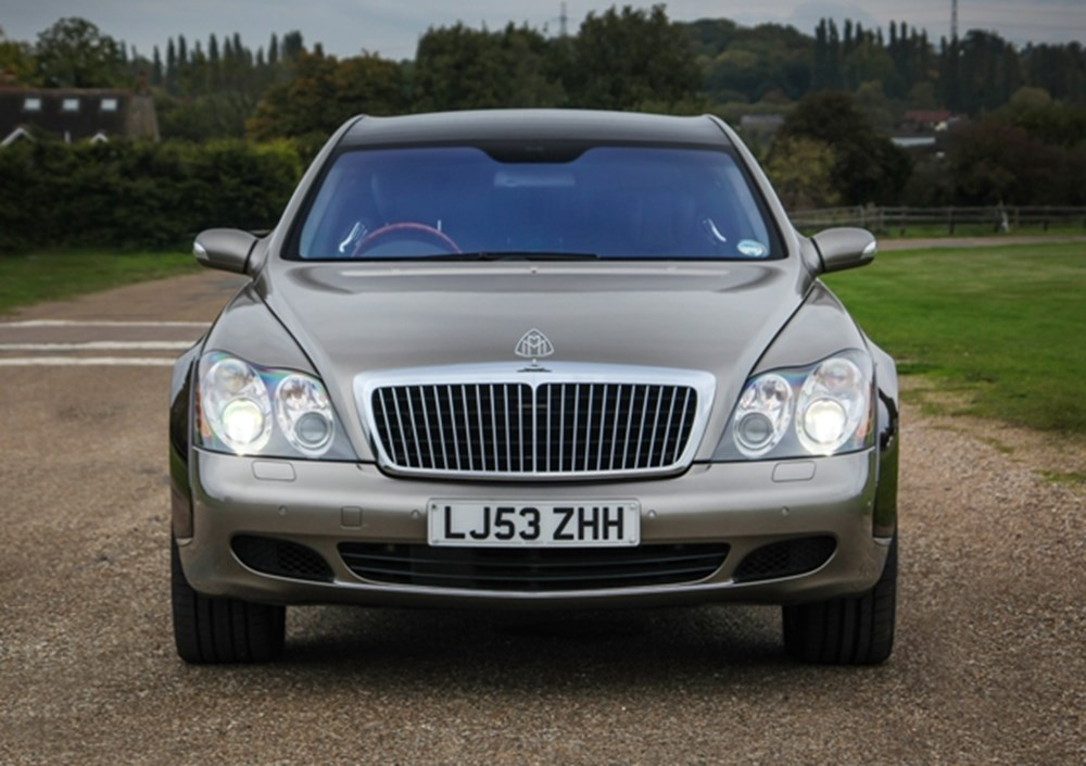 Lot 270 - 2003 Maybach 62