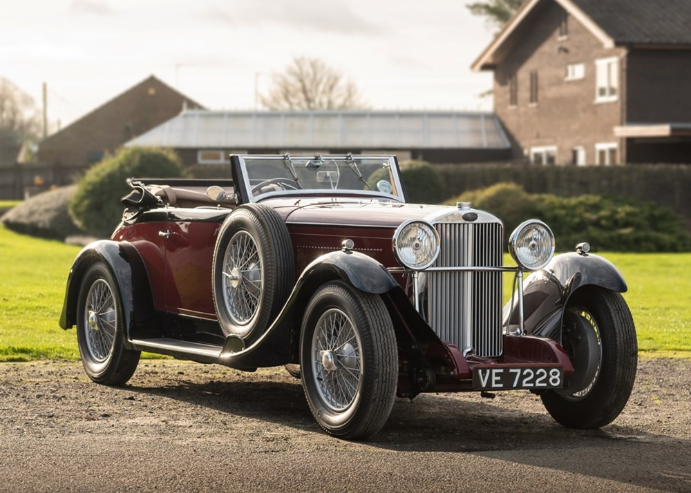 Lot 166 - 1932 Sunbeam 20 Tourer