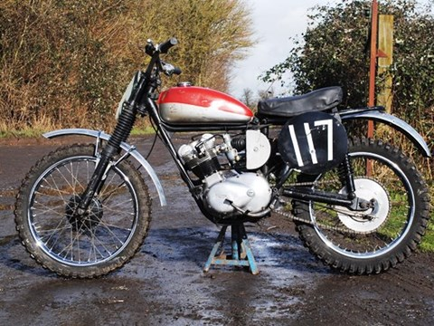 1963 Triumph T20 Tiger Cub Trials