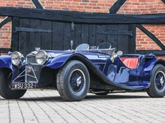 Navigate to Lot 306 - 1968 Jaguar SS100 by Heritage