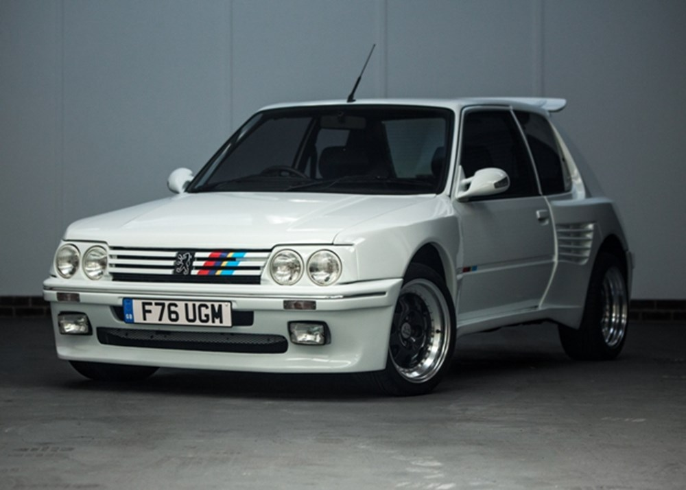 Ref 87 1989 peugeot 205 gti dimma 1 9 litre for Housse 205 gti