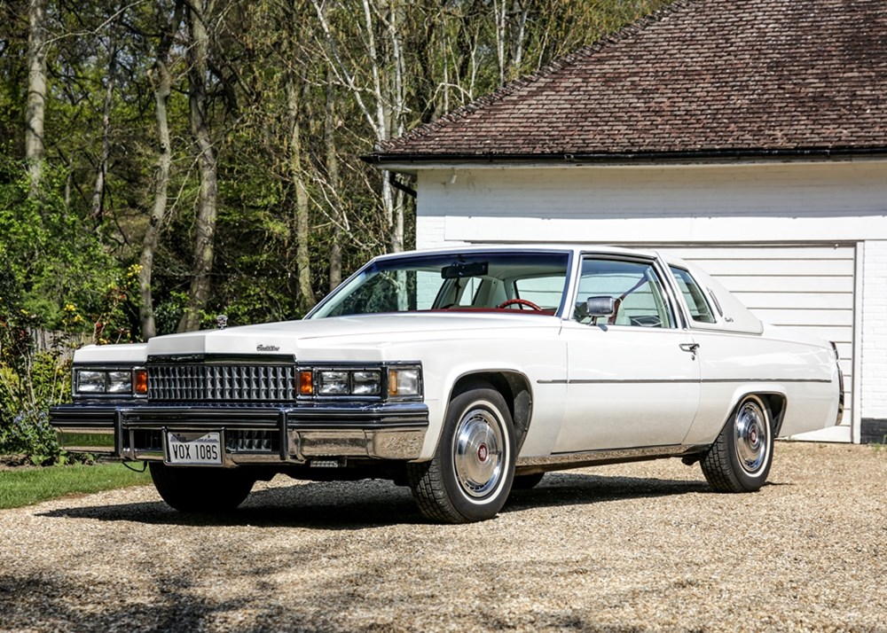 Lot 262 - 1978 Cadillac Coupé de Ville