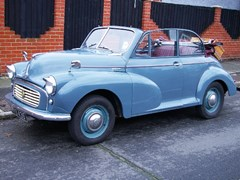Navigate to Lot 214 - 1956 Morris Minor Split Screen Convertible