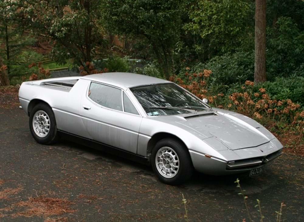 1975 maserati merak classic sports car auctioneers. Black Bedroom Furniture Sets. Home Design Ideas