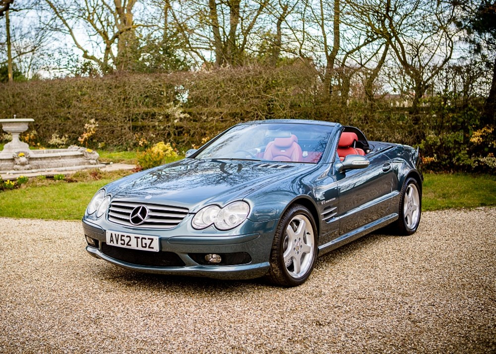 Lot 214 - 2002 Mercedes-Benz SL55 AMG Kompresser