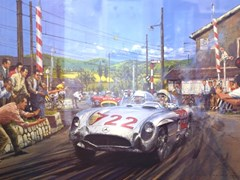 Navigate to 1955 Mille Miglia limited edition print