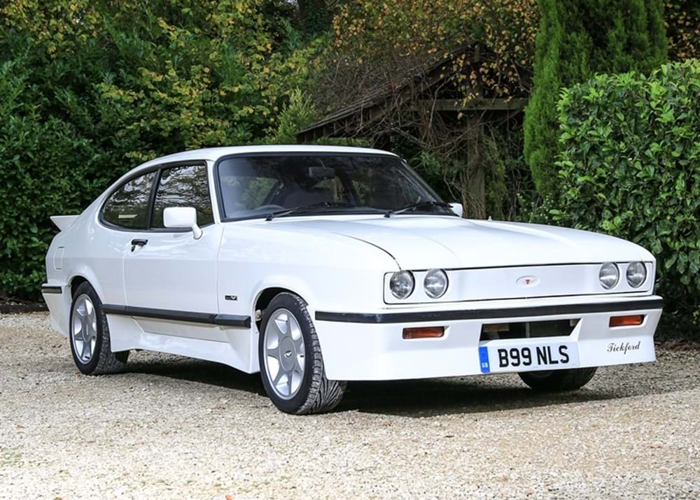 Lot 162 - 1984 Ford Capri by Tickford (2.8 litre)