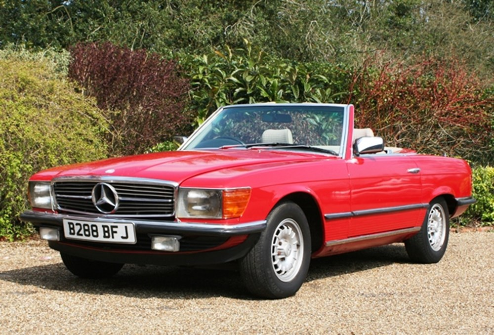 Lot 112 - 1985 Mercedes-Benz 280SL Roadster