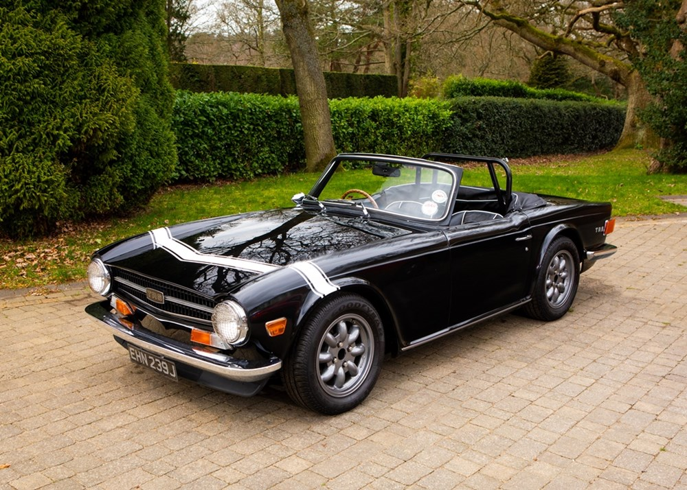 Lot 148 - 1970 Triumph TR6 *WITHDRAWN*