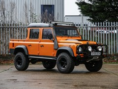 Navigate to Lot 142 - 2009  Land Rover Defender 110 Double Cab Pick-up
