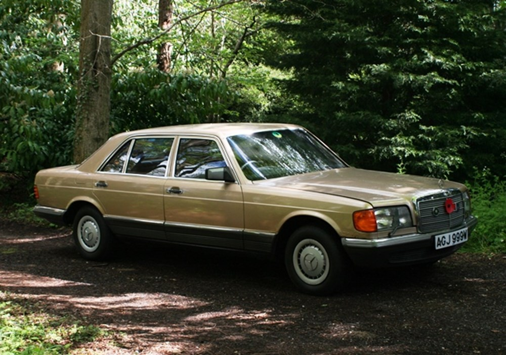Lot 278 - 1981 Mercedes-Benz 500SEL