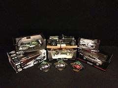 Navigate to Eight 1/18 scale models