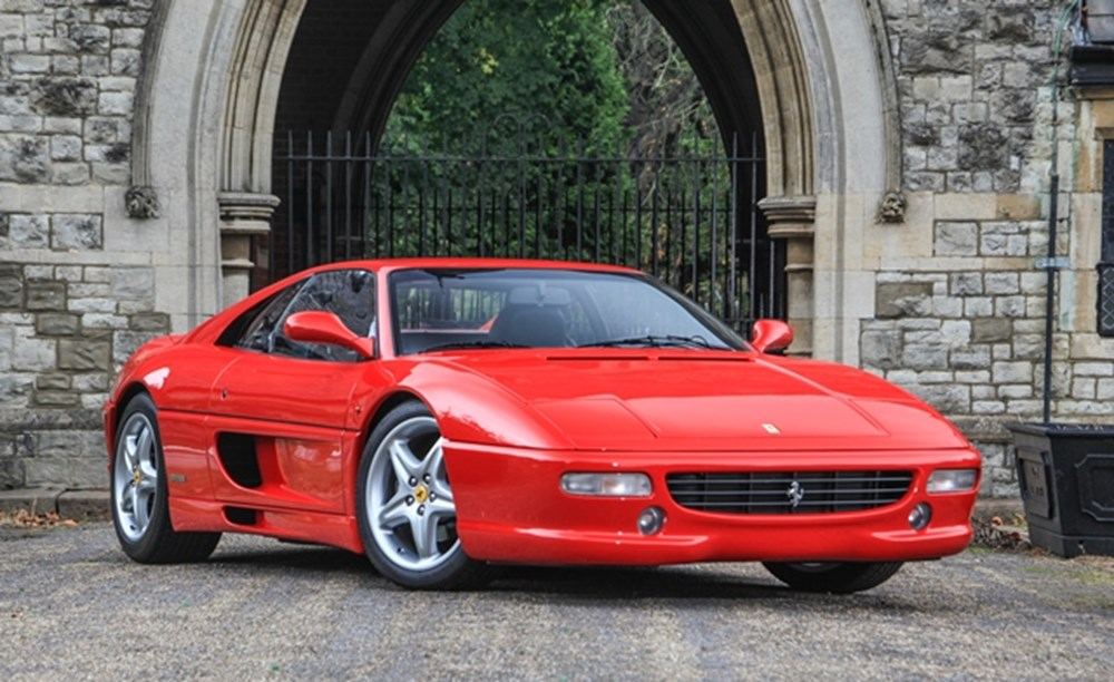 Lot 206 - 1998 Ferrari F355 F1 Berlinetta