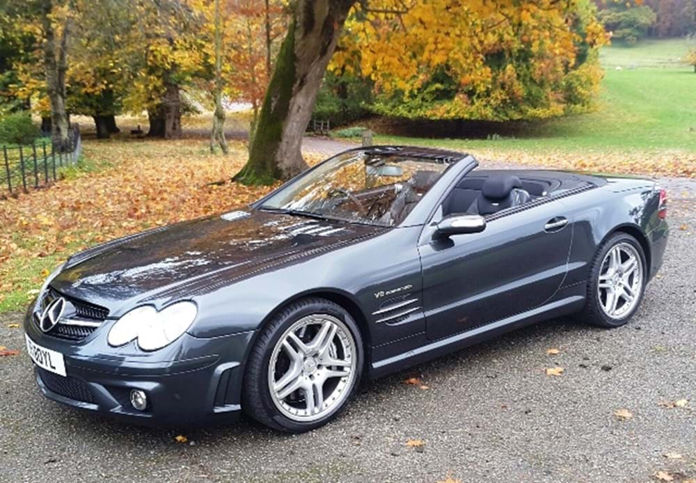 Lot 221 - 2006 Mercedes-Benz SL 55 AMG F1 Performance Package