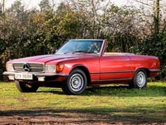 Navigate to Lot 125 - 1972 Mercedes-Benz 350 SL Roadster