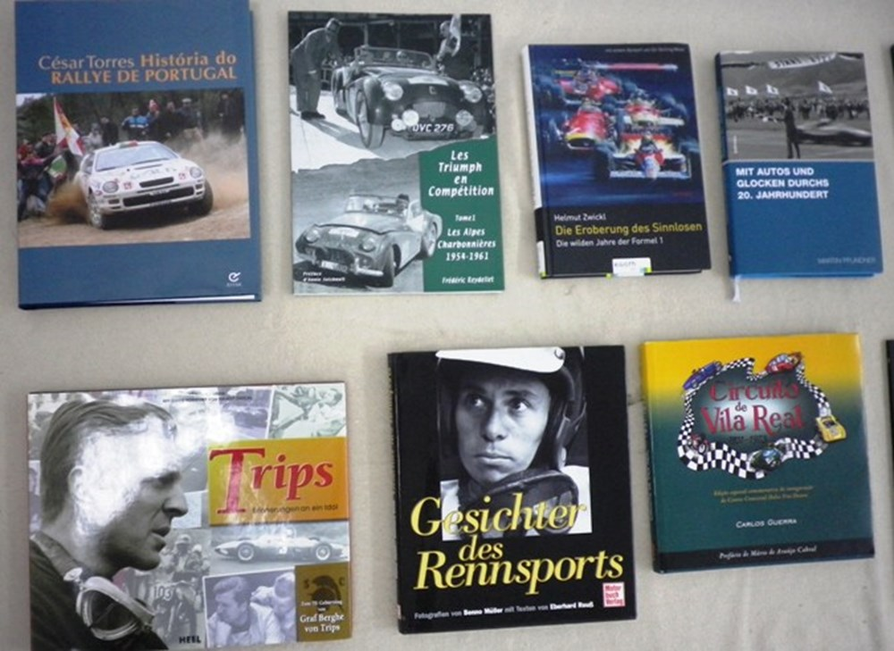 Lot 089 - Stirling Moss books