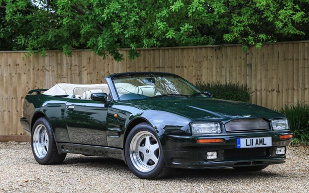 Lot 313 - 1994 Aston Martin Virage 'Widebody' Volante (6.3 litre)