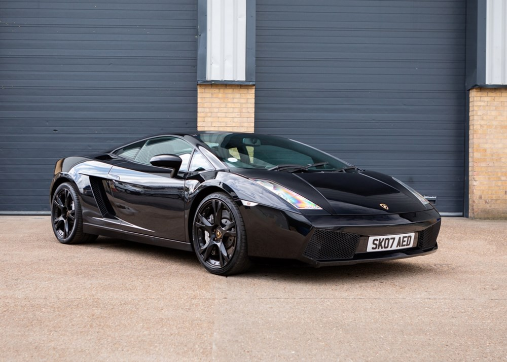 Lot 136 - 2007 Lamborghini Gallardo Nero Edition
