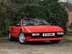 Navigate to Lot 197 - 1985 Ferrari Mondial QV Convertible