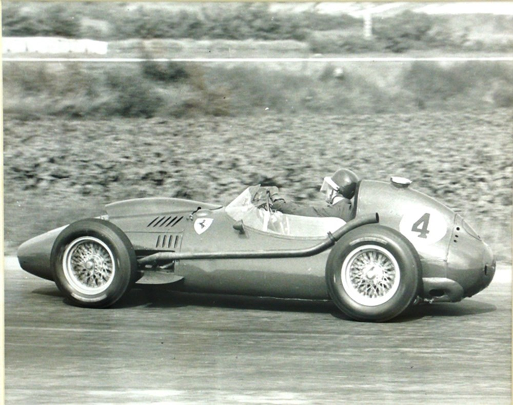 Lot 074 - Mike Hawthorn print