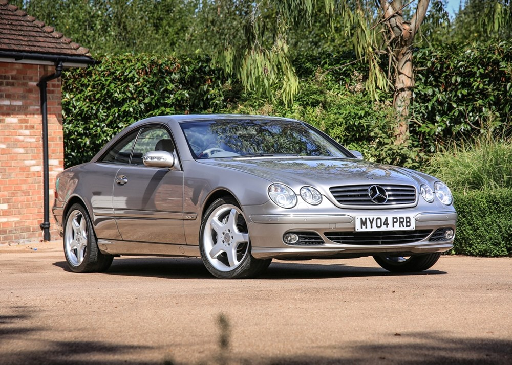 Lot 132 - 2004 Mercedes-Benz CL 600 Bi-Turbo Coupé