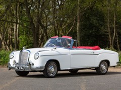 Navigate to Lot 224 - 1957 Mercedes-Benz 220S Cabriolet