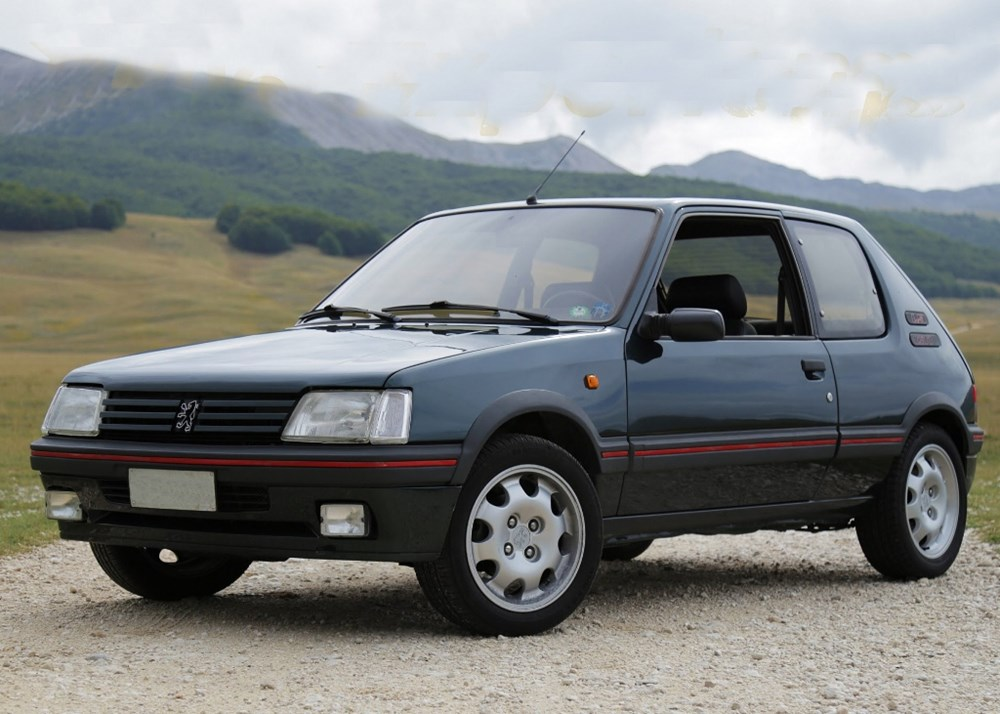 ref 94 1989 peugeot 205 gti 1 9 litre. Black Bedroom Furniture Sets. Home Design Ideas