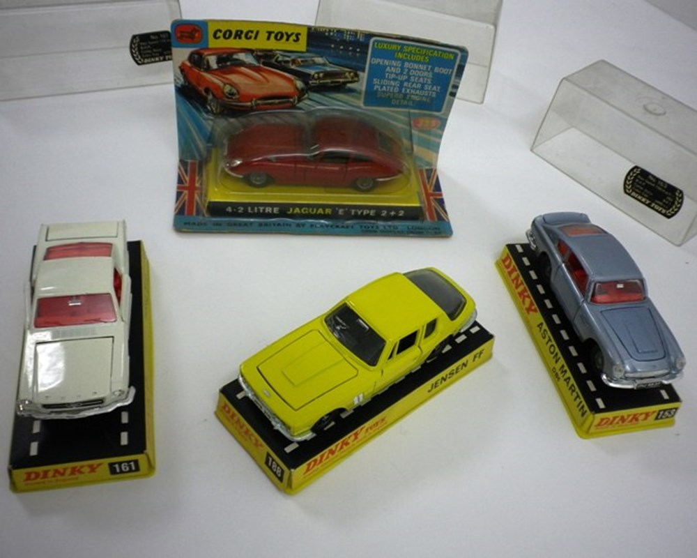Lot 38 - Four die-cast model cars
