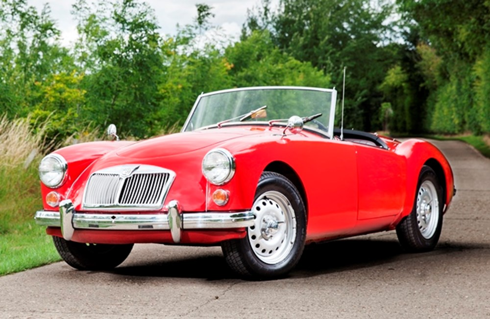 Lot 248 - 1959 MG A Twin-Cam Roadster