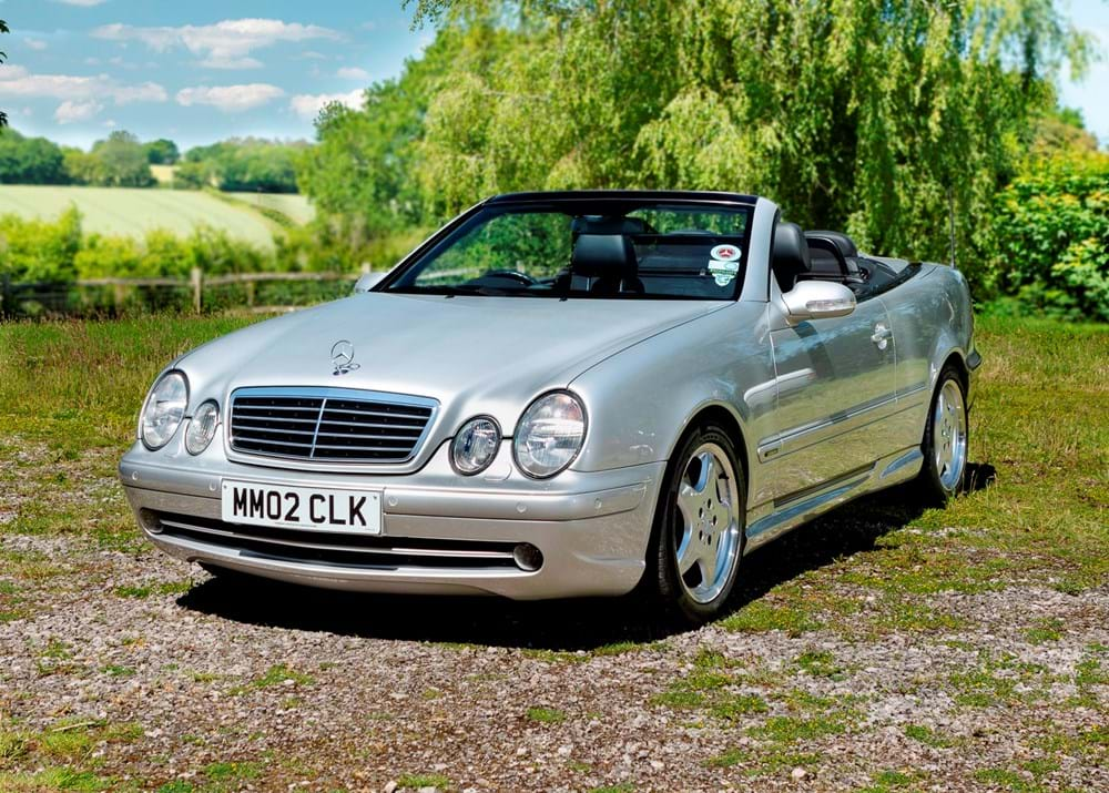 Lot 151 - 2002 Mercedes-Benz CLK55 AMG 'W208'