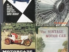 Navigate to Twelve motoring books.